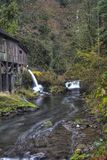 Cedar Creek Grist Mill Fotografia Stock