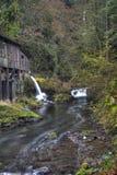 Cedar Creek Grist Mill fotografía de archivo