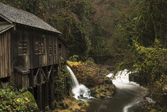 Cedar Creek Grist Mill, 1876 Royalty Free Stock Image