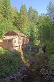 Cedar Creek Mill, Washington Stock Image