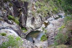 Cedar Creek Rock Pools Australia Stock Images