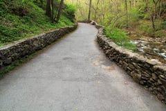 Cedar Creek Trail. Natural Bridge State Park, Virginia Stock Photos