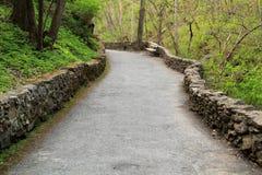 Cedar Creek Trail. Natural Bridge State Park, Virginia Stock Photo
