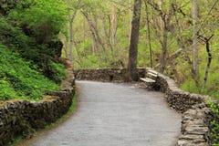 Cedar Creek Trail. Natural Bridge State Park, Virginia Stock Photography