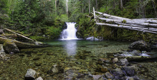 Cedar Creek Waterfalls Lizenzfreie Stockfotos