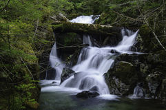 Cedar Creek Waterfalls Royalty Free Stock Photo