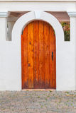 Cedar Door Royalty Free Stock Image