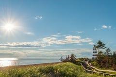 Cedar Dunes Provincial Parkâ-€™s Strand Lizenzfreie Stockfotos