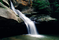 Cedar Falls. At Hocking Hills State Park, Ohio Stock Images
