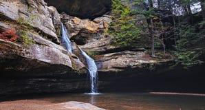 Cedar Falls aux collines hocking Image stock