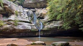 Cedar Falls em montes de Hocking Imagens de Stock Royalty Free