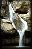 Cedar Falls-waterval Stock Foto