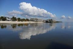 Cedar Key-Küstenlinie, USA Lizenzfreies Stockbild