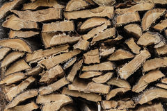 Cedar Lighting Firewood Texture sec photos libres de droits