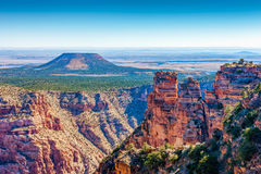 Cedar Mountain at Desert View, Grand Canyon, Arizona Stock Photography