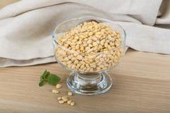 Cedar nut Stock Photo
