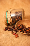 Cedar nuts Royalty Free Stock Photos