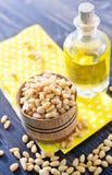 Cedar nuts Royalty Free Stock Image