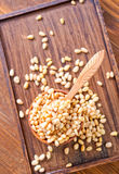 Cedar nuts Stock Photos