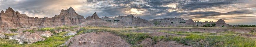Cedar Pass Panorama Two Stock Photos