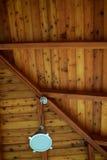 Cedar Planked Ceiling Fotos de Stock Royalty Free