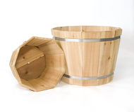 Cedar Planters Royalty Free Stock Photos