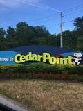 Cedar point stock photo