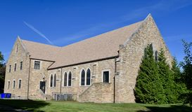 Cedar Rapids Church royalty-vrije stock foto's