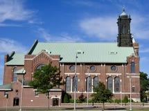 Cedar Rapids Church stock foto