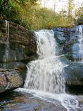 Cedar Rock Creek Falls Foto de Stock Royalty Free