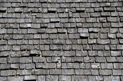 Cedar shake roof Royalty Free Stock Image
