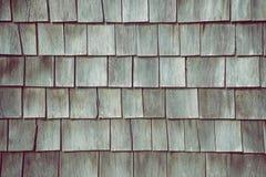 Cedar shake siding pattern Royalty Free Stock Image