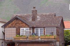Cedar Shingled House Stock Photos