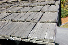 Cedar Shingles Royalty Free Stock Images