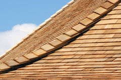 Cedar Shingles Royalty Free Stock Image