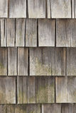 Cedar siding Stock Image