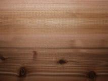 Cedar wood background panel with lighting gradient Stock Image