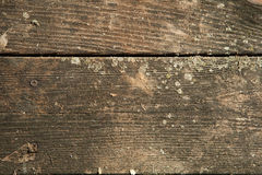 Cedar wood planks. Close up of weathered cedar wood planks royalty free stock photos