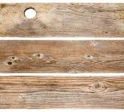 Cedar wood planks isolated Stock Photos