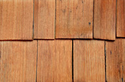 Cedar wood siding, background Stock Photography