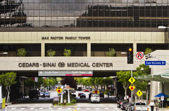 Cedars Sinai Medical Center In Los Angeles Stock Images
