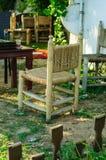 Cedarwood椅子 库存图片