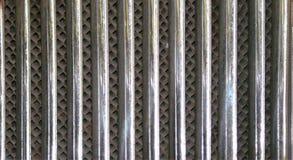Cedazo del radiador del coche de 30 años Fotos de archivo libres de regalías