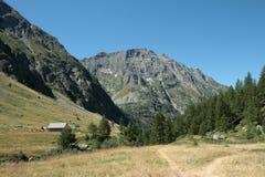 Cedera mountain in Alps Stock Photography