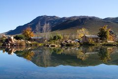 Cederberg reflection Royalty Free Stock Photos