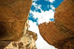 Cederberg South Africa. Mountain Landscape Royalty Free Stock Images