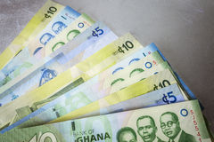 Cedi - Currency of Ghana, West Africa Royalty Free Stock Photography