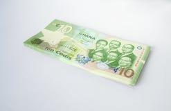 Cedi - waluta Ghana, afryka zachodnia Fotografia Stock
