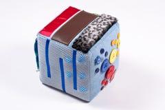 Cedo aprendendo o brinquedo sensorial Imagem de Stock Royalty Free
