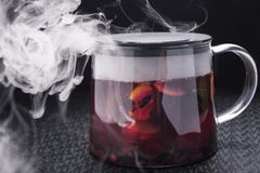 Cedrat herbata obrazy royalty free